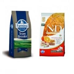 Team Breeder Dog Low Grain Adult Medium Codfish & Orange 20 Кг Низкозерновой Для Взрослых Собак Треска с Апельсином Farmina