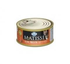 Matisse Salmon Mousse 85 гр мусс для кошек с лососем Farmina