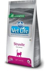 Vet Life Cat Struvite 2 Кг Диета Для Кошек Для Растворения Струвитных Уролитов Farmina