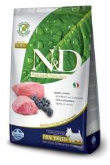 N&D Grain Free Dog Lamb & Blueberry Adult Mini 2,5 Кг Беззерновой Для Взрослых Собак Мелких Пород Ягненок С Черникой Farmina