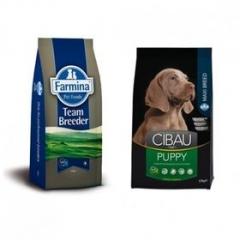 Team Breeder Dog Puppy Maxi 20 Кг Супер Премиум Для Щенков Крупных Пород Farmina