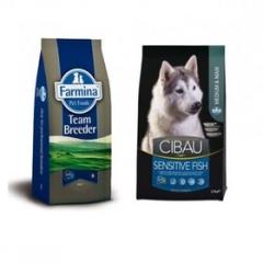 Team Breeder Dog Sensible Fish Medium & Maxi 20 Кг Супер Премиум Для Взрослых Собак Рыба И Рис Farmina