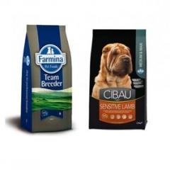 Team Breeder Dog Sensible Lamb 20 Кг Супер Премиум Для Взрослых Собак Ягненок И Рис Farmina
