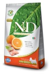 N&D Grain Free Dog Fish & Orange Adult Mini 2,5 Кг Беззерновой Для Взрослых Собак Мелких Пород Рыба С Апельсином Farmina
