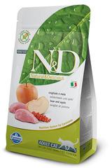 N&D Grain Free Cat Boar & Apple Adult 1,5 Кг Беззерновой Для Взрослых Кошек Кабан С Яблоками Farmina