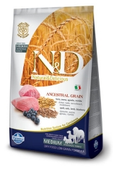 N&D Low Grain Ancestral Dog Lamb & Blueberry  Adult 12 Кг  Низкозерновой Для Взрослых Собак Ягненок с Черникой Farmina