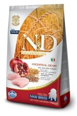 N&D Low Grain Ancestral Dog Chicken & Pomegranate Puppy Maxi 12 Кг Низкозерновой Для Щенков Крупных Пород Курица С Гранатом Farmina