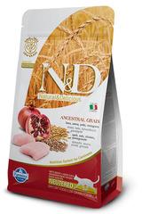 N&D Low Grain Cat Chicken & Pomegranate Neutered  10 кг Низкозерновой Для Стерилизованных Кошек и Кастрированных Котов Курица С Гранатом Farmina