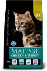Matisse Chicken & Turkey 400 Гр Курица И Индейка Farmina