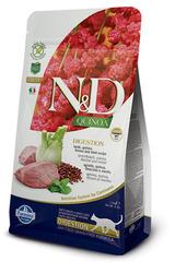 N&D Grain Free Cat Quinoa Digestion Lamb 300 гр Беззерновой Для Взрослых Кошек Ягненок  И Киноа Для Поддержки Пищеварения Farmina