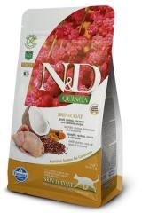 N&D Grain Free Cat Quinoa Skin & Coat Quail 1,5 Кг Беззерновой Для Взрослых Кошек Перепел И Киноа Для Здоровья Кожи И Шерсти Farmina