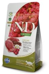 N&D Grain Free Cat Quinoa Urinary Duck 300 гр Беззерновой Для Взрослых Кошек Утка И Киноа Для Профилактики Мочекаменной Болезни Farmina